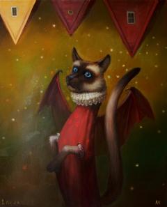 Летучая кошка / Flying cat