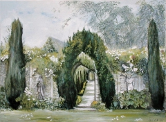 Yew Arches, Garsington Manor