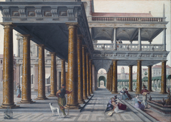 Architectural Caprice with Figures