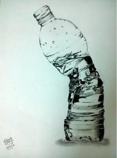 Crushed Bottle..