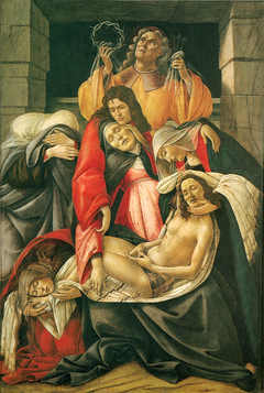 Lamentation over the Dead Christ with Saints