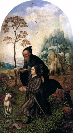 St Anthony with a Donor