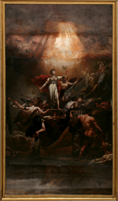 Allegory on the 18th Brumaire, or: France saved