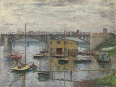 Bridge at Argenteuil on a Gray Day
