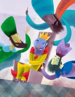 El Rey Pregunta al Espejo / King Ask the Mirror