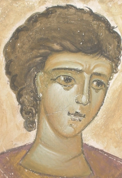 Portrait of a young byzantine