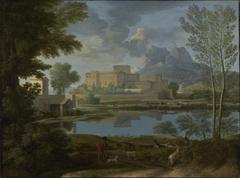 Landscape with a Calm (Un Tem[p]s calme et serein)