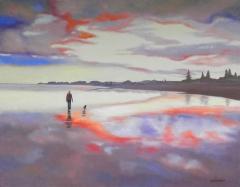 Reflective Sunset - Riversdale
