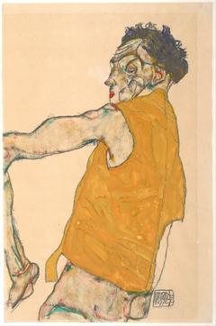Self-Portrait in Yellow Vest