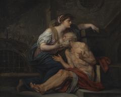 """Cimon and Pero: """"Roman Charity"""""""