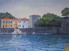Small Greek Harbor