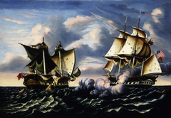 Capture of H.B.M. Frigate Macedonian by U.S. Frigate United States, October 25, 1812