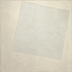 Suprematist Composition: White on White