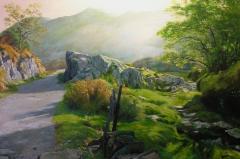 Rocky Valley in Snowdonia