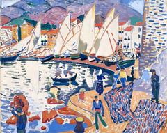 Le séchage des voiles (The Drying Sails)
