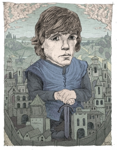 Peter Dinklage as Tyrion Lannister of Game of Thrones