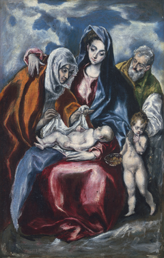 The Holy Family with Saint Anne and the Infant John the Baptist